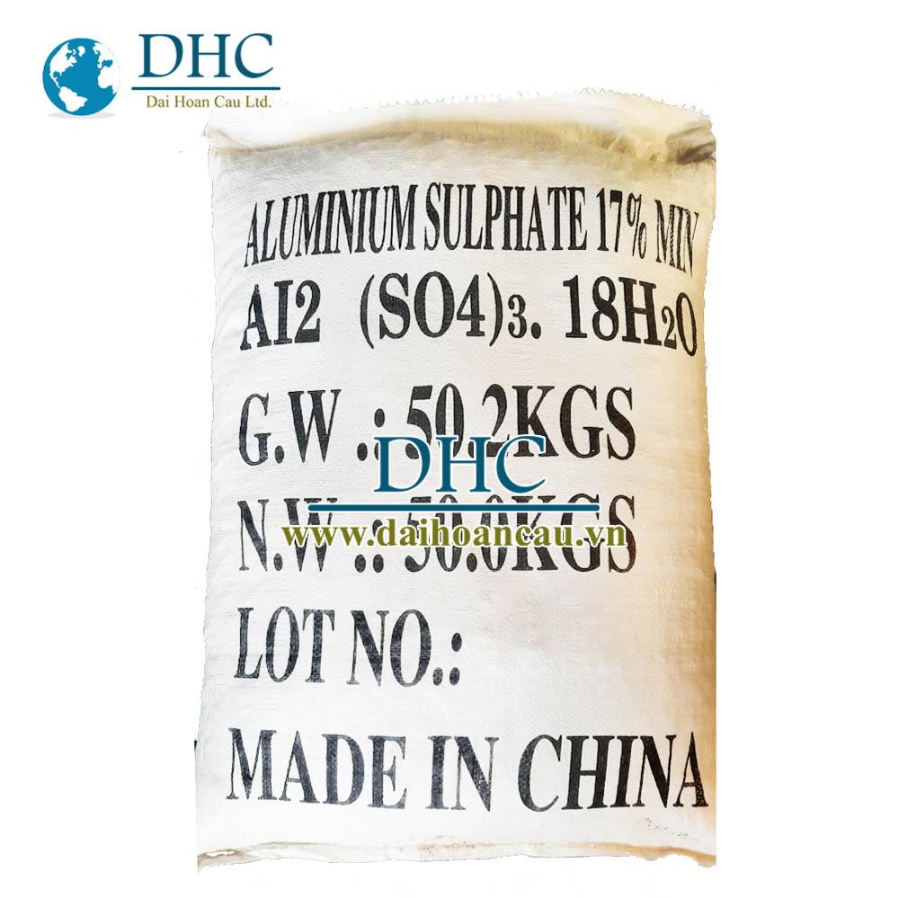 Phèn nhôm Al2(SO4)3 Trung Quốc