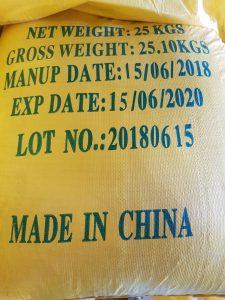 Polyaluminium Chloride - PAC bao vàng chữ xanh